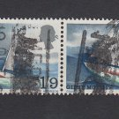 GB QEII Stamp. 1967 Chichester 1/9d Used BLK 2 SG751 Mauritron #78135