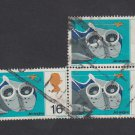 GB QEII Stamp. 1967 Discovery 1/6d BLK 3 Used SG754 Mauritron #78140