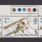 GB QEII Stamp. 1968 Anniversaries 1s BLK 3 MFU SG769 Mauritron #78150