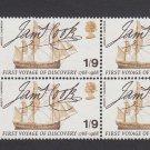 GB QEII Stamp. 1968 Anniversaries 1/9 BLK 6 UM SG770 Mauritron #78152