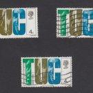 GB QEII Stamp. 1968 Anniversaries 4d VFU x 3 SG767 Mauritron #78154