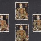 GB QEII Stamp. 1968 Paintings 4d x 4 MFU SG771 Mauritron #78188