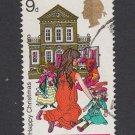 GB QEII Stamp. 1968 Christmas 9d MFU SG306 Mauritron #78189