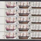 GB QEII Stamp. 1968 Ships 9d Edge BLK 15 SG779 780 781 Mauritron #78193