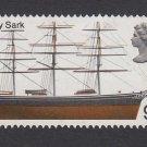 GB QEII Stamp. 1969 Ships 9d Cutty Sark MFU SG781 Mauritron #78196