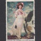 GB QEII Stamp. 1968 Paintings 1s MFU SG772 Mauritron #78199
