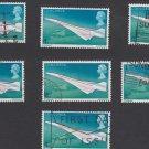 GB QEII Stamp. 1969 Concorde 4d MFU Stock 7 SG784 Mauritron #78200