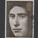 GB QEII Stamp. 1969 Prince Charles 1s MFU SG806 Mauritron #78226