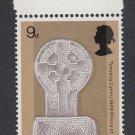 GB QEII Stamp. 1969 Prince Charles 9d Edge UM SG805 Mauritron #78227