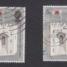 GB QEII Stamp. 1969 Prince Charles 5d x 2 MFU SG804 Mauritron #78230