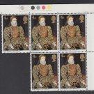GB QEII Stamp. 1968 Paintings 4d Corner BLK 5 UM SG771 Mauritron #78234