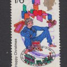 GB QEII Stamp. 1968 Christmas 1/6d MFU SG777 Mauritron #78237