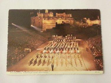 Postcard. Edinburgh Military Tattoo Mauritron #78260