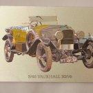 Postcard. 1926 Vauxhall 30 98 Mauritron #78281