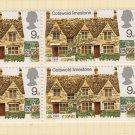 GB QEII Stamp. 1970 Architecture 9d BLK 5 UM SG816 Mauritron #78297