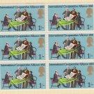 GB QEII Stamp. 1970 Anniversaries 1/- BLK 6 UM SG821 Mauritron #78306