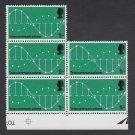 GB QEII Stamp. 1969 Post Office 1/- BLK 5 UM SG810 Mauritron #78320