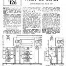 Pilot 85U Schematics Circuits Service Sheets  for download.