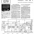 Pilot T92 Schematics Circuits Service Sheets  for download.