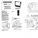 Ferguson 59K5  Colour Television Service Manual download.