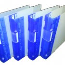 Guildex GLX Ergogrip Binders Pack of 4 Blue Heavy Duty Mauritron #79190