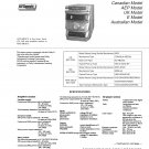 Sony HCDMDX10 Music System Service Manual Schematics PDF download.