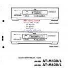 Akai ATM430L Audio Equipment Service Manual PDF download.