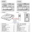Hitachi  HRDMD38 Music System Service Manual PDF download.