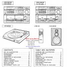 Hitachi  HRDMD53 Music System Service Manual PDF download.