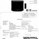 Sony KVX2552U Television Service Manual PDF download.