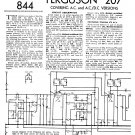 Ferguson 207 Vintage Audio Service Schematics PDF download.