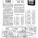 Ferguson 341BU Vintage Audio Service Schematics PDF download.
