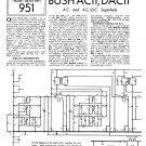 Bush AC11 Vintage Wireless Service Schematics PDF download.