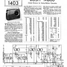 Bush MB60 Vintage Wireless Service Schematics PDF download.
