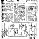 Bush SAC21 Vintage Wireless Service Schematics PDF download.
