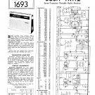 Bush TR112 Vintage Wireless Service Schematics PDF download.