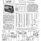 Bush TR82B Vintage Wireless Service Schematics PDF download.