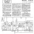 Bush VHF54 Vintage Wireless Service Schematics PDF download.