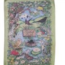 Tea Towel British Birds Mauritron # 78924.