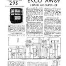 EKCO AW69 Equipment Service Information by download #90161