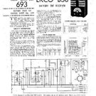EKCO B38 Equipment Service Information by download #90166