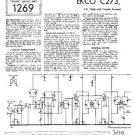 EKCO C273 Equipment Service Information by download #90177