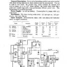 EKCO CR227 Equipment Service Information by download #90186