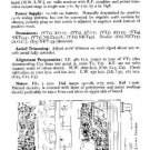 EKCO CR921 Equipment Service Information by download #90193