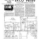 EKCO PB189 Equipment Service Information by download #90218