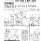 EKCO T368FP Equipment Service Information by download #90307