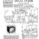EKCO TP308 Equipment Service Information by download #90364