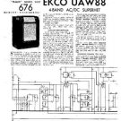 EKCO UAW88 Equipment Service Information by download #90400
