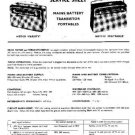 EKCO VARSITY Equipment Service Information by download #90402