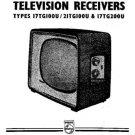 PHILIPS 17TG100U Vintage TV Service Info  by download #90698